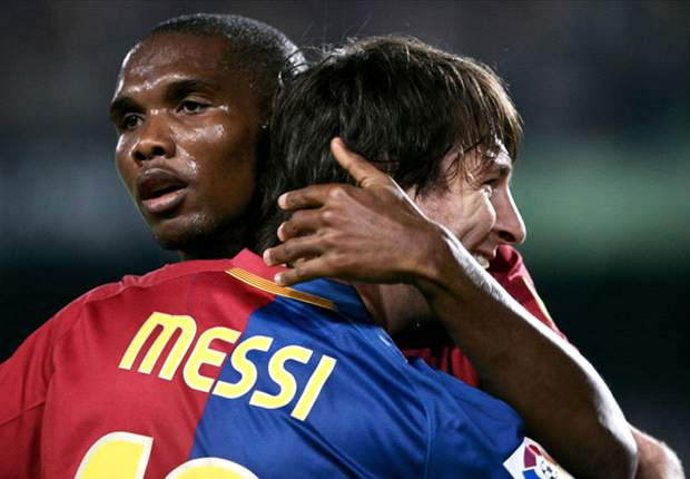 Eto'o To Reject All Offers To Stay At Barcelona - Report