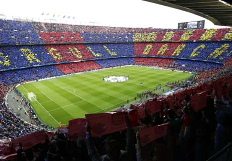 Report reveals Camp Nou only 72% full