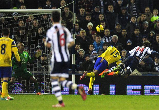 West Bromwich empató con Everton en el debut de Pepe Mel