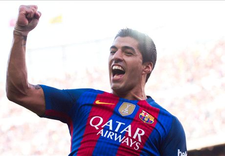 Suarez nets hat-trick in Betis rout
