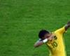 Neymar le dedicó su gol a Bolt