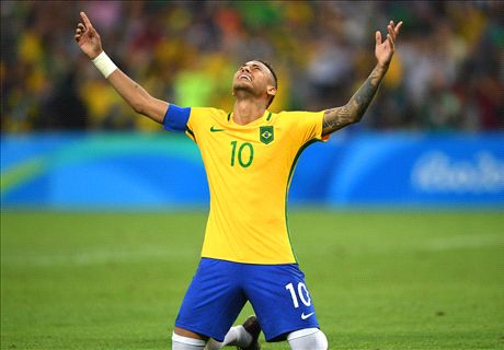 Neymar seals Olympic gold for Brazil
