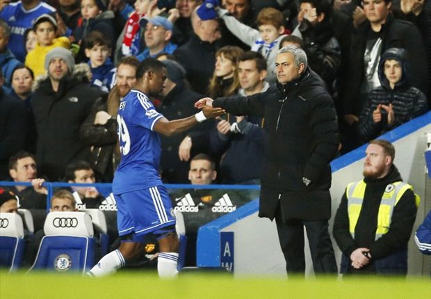 Mourinho may risk Eto'o against Paris Saint-Germain