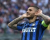 Mauro Icardi celebrates for Inter