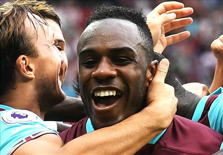 Antonio strikes late to beat Bournemouth