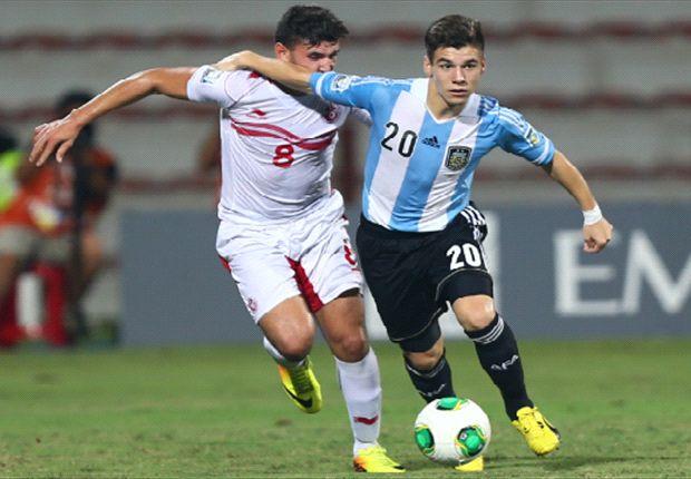 Matías Sánchez pasó por la Sub 17 y ahora fue convocado a la Sub 20