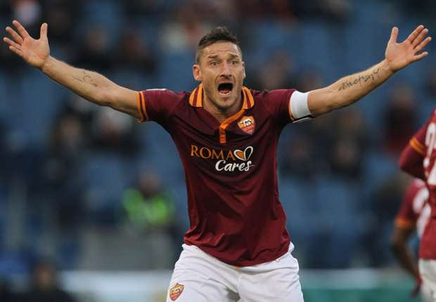 Francesco Totti open to World Cup selection