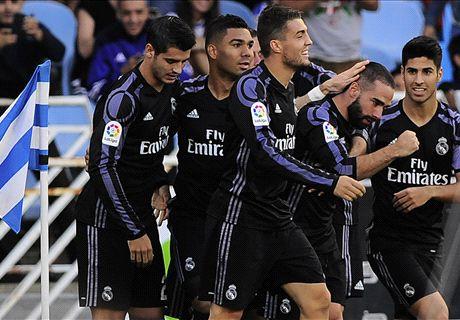 FT: Real Sociedad 0-3 Real Madrid