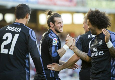Bale shines in Ronaldo's absence