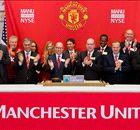 Man Utd shares drop to three-year low