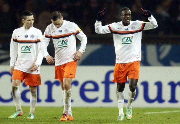 PSG 1-2 Montpellier: Montano stuns Blanc's men