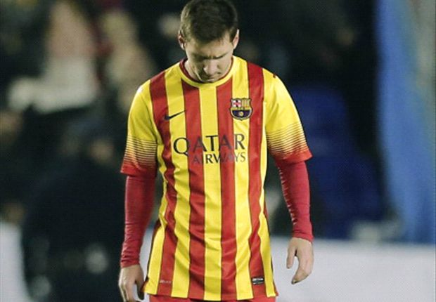 Messi could play a deeper role against Malaga, says Barcelona boss Martino