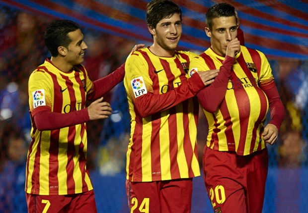 Sergi Roberto hails Barcelona response against 'defensive' Levante