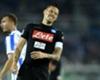 """Napoli, Hamsik è incredulo: """"Arbitro incomprensibile e Higuain che esulta lì..."""""""