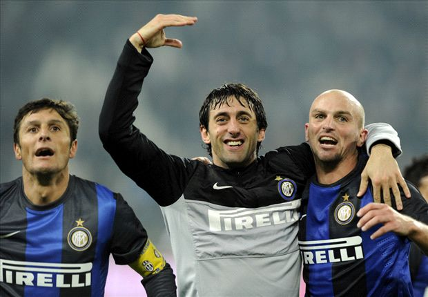 Milito and Samuel to lead Inter exodus in June, Zanetti and Cambiasso could follow