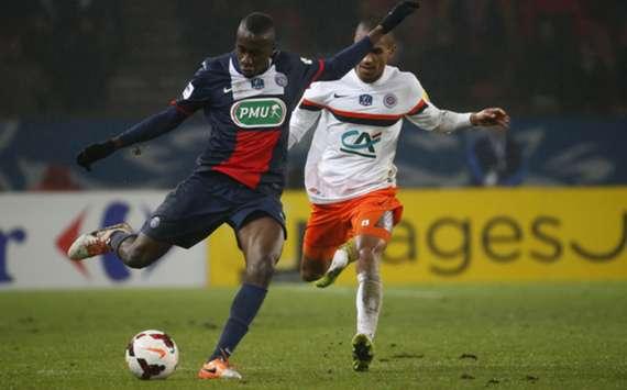 PSG's Blaise Matuidi.