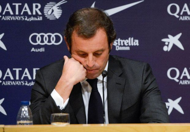 A club in disarray: History will not look kindly on Rosell's Barcelona reign