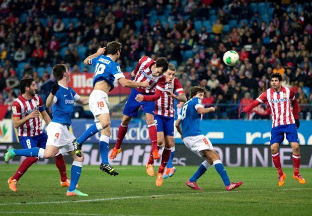 Atlético 1-0 Athletic: Diego Godín y un cabezazo para el primer asalto