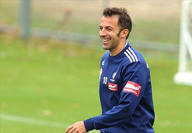 Del Piero dapat tawaran jadi pelatih Sidney FC.