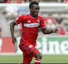 Accam eyeing starting role with Ghana