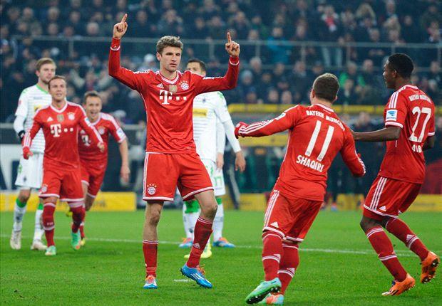 Thomas Muller celebra un gol