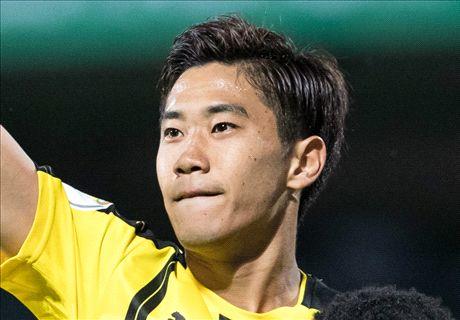 Kagawa strikes twice in Dortmund victory