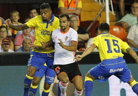 Liga, 1ª - Las Palmas, poker al Valencia