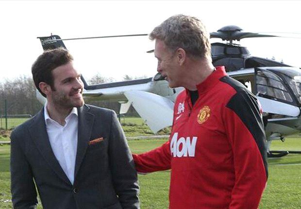 Mata llega al United