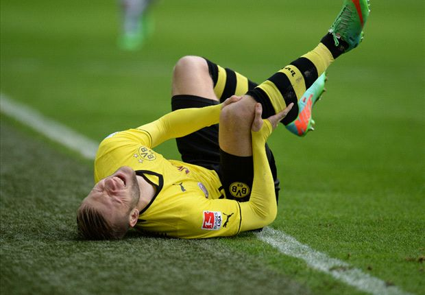 Dortmund suspects Kuba cruciate ligament damage