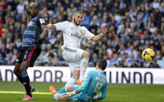 Karim Benzema Roberto Granada Real Madrid Liga BBVA