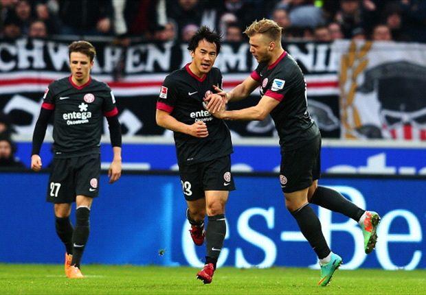 Die Mainzer durften in Stuttgart drei Punkte feiern