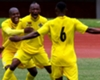 Knowledge Musona & Khama Billiat of Zimbabwe