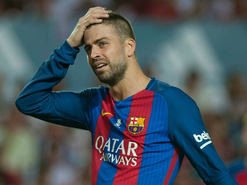 Pique hoping Barcelona's Champions League is as 'easy' as Madrid's
