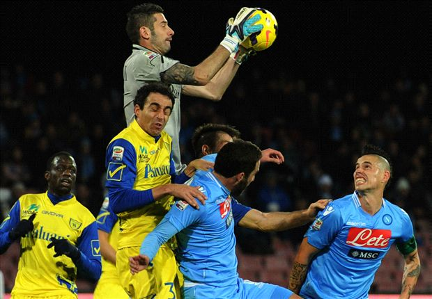 Napoli 1-1 Chievo: Albiol rescues point after Sardo stunner