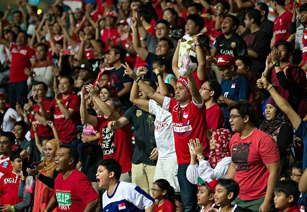 The LionsXII supporters will once again get behind their team against Pahang in the FA Cup.