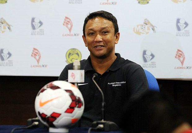 The LionsXII coach is all smiles after winning his first home game in the league.