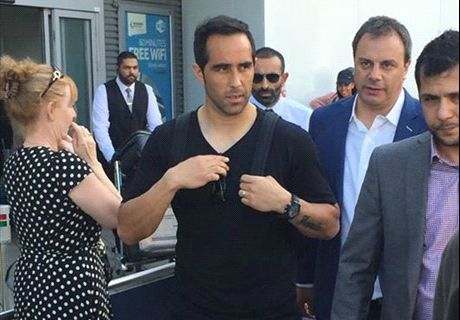 Bravo arrives to seal Man City move