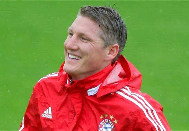 Zurück im Training und erleichtert: Bastian Schweinsteiger