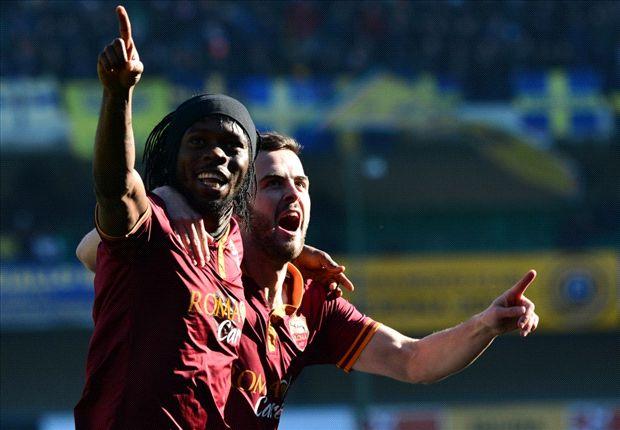 Verona 1-3 Roma: Gervinho reignites Scudetto race