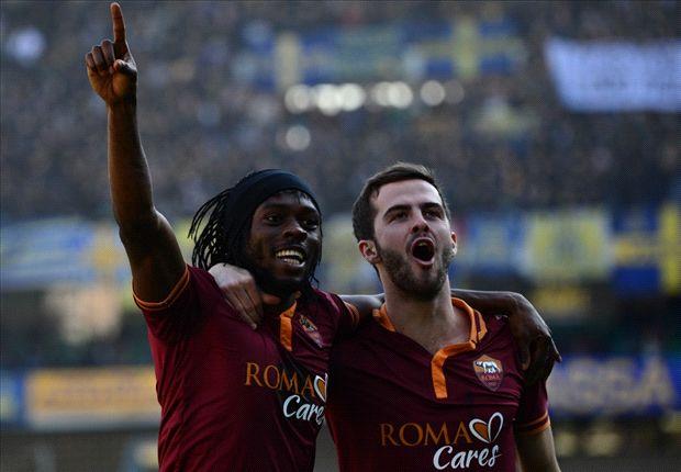 Hellas Verona 1-3 AS Roma: Gervinho pone a los romanos a seis de la Juventus