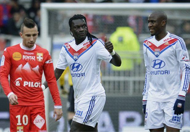 Bafetimbi Gomis a montré la voie à suivre aux Lyonnais
