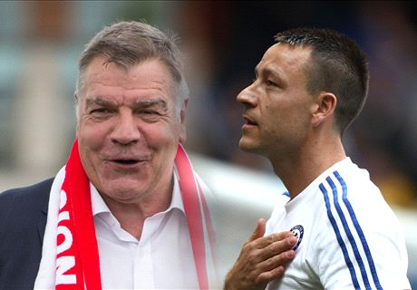 'England return between Terry & Big Sam'