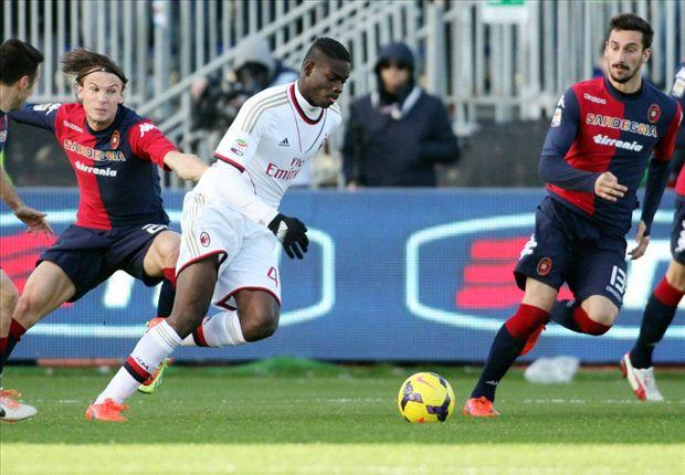 Cagliari 1-2 AC Milan: Pazzini seals stunning comeback