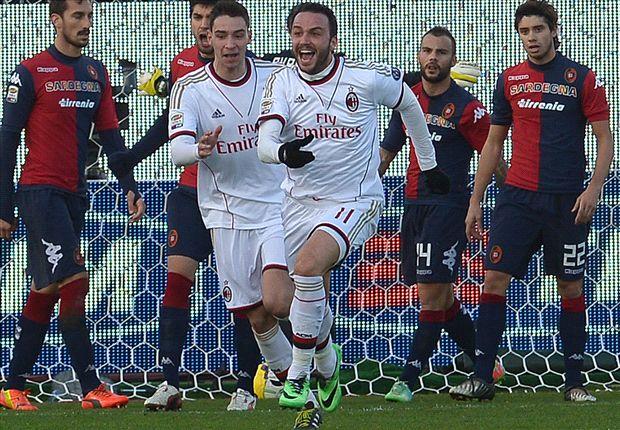Pazzini prenderà il posto di Mario Balotelli al centro dell'attacco Milan