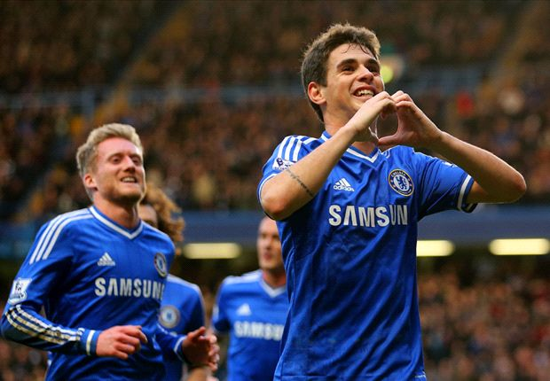 Chelsea 1-0 Stoke City: Oscar shines as Blues start life after Mata with narrow win
