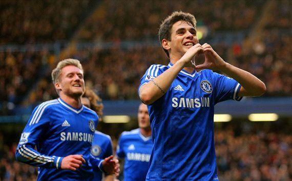 Oscar Chelsea Stoke City FA Cup Fourth Round 26012014