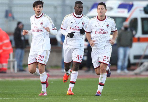 Der AC Milan will noch auf einem internationalen Platz landen