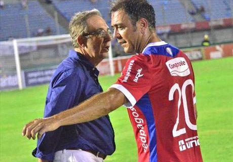 Nacional: giocatore senza avambraccio
