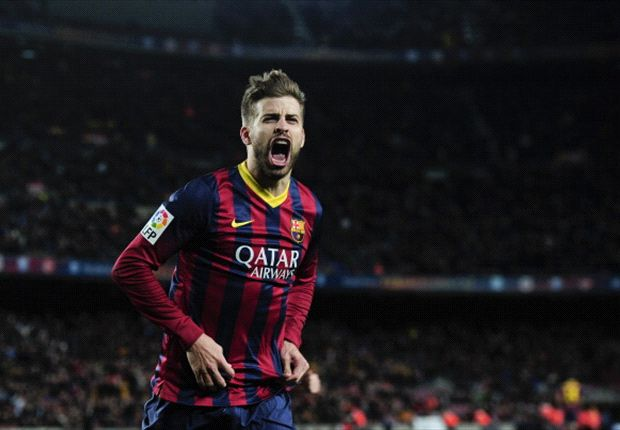 Pique excited for 'great' Clasico final