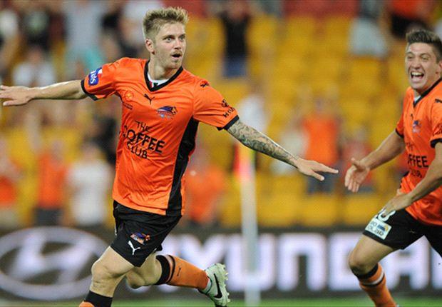 Luke Brattan rescues Brisbane at home
